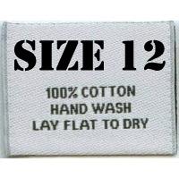 Clothes Sizes: Size 12