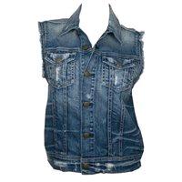 Type: Denim waistcoats